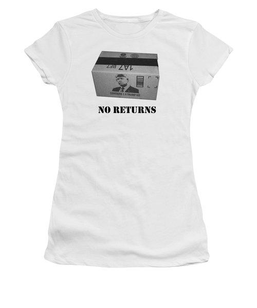 Trump Box Women's T-Shirt (Athletic Fit)