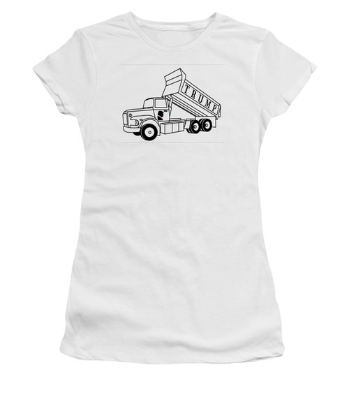 Trump Dump Truck Women's T-Shirt (Athletic Fit)