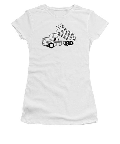 Trump Dump Truck Women's T-Shirt (Athletic Fit)