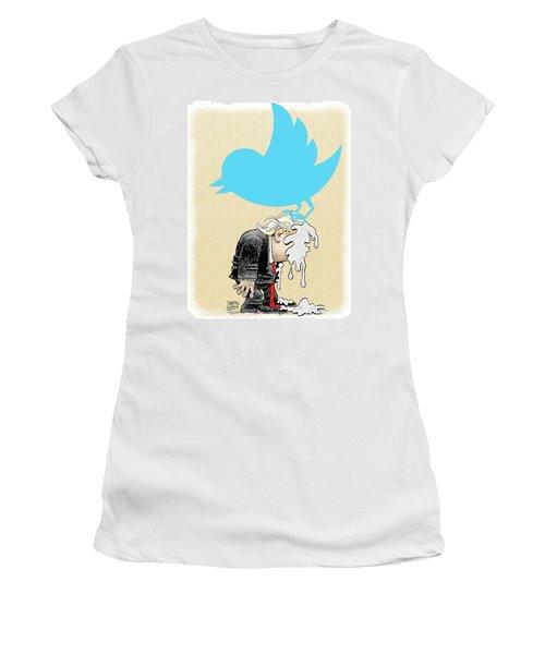 Trump Twitter Poop Women's T-Shirt
