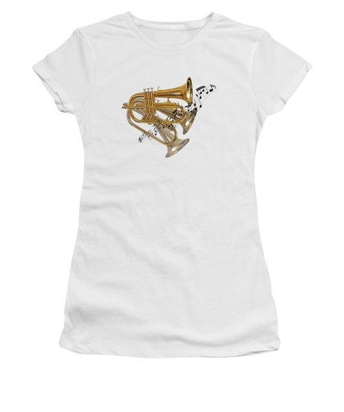Trumpet Fanfare Women's T-Shirt