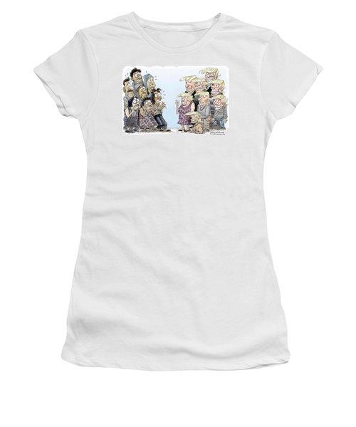 Trumpettes Horror Women's T-Shirt