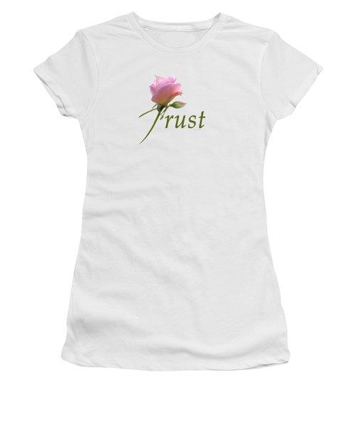 Trust Women's T-Shirt (Athletic Fit)
