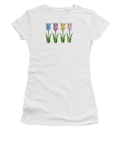Tulip Row Women's T-Shirt (Athletic Fit)