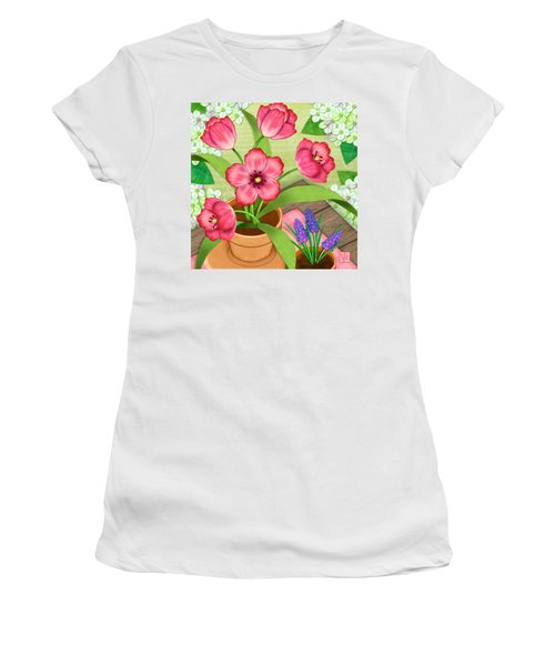 Tulips On A Spring Day Women's T-Shirt