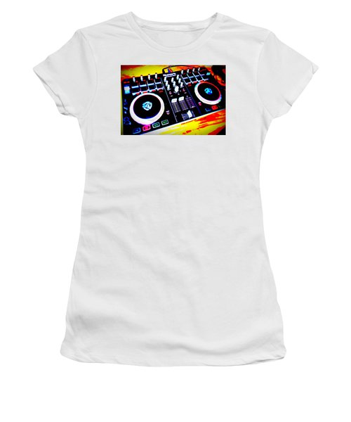 Tunes Women's T-Shirt (Athletic Fit)