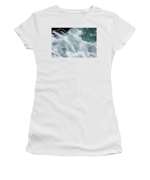 Turbulent Seas Women's T-Shirt (Athletic Fit)