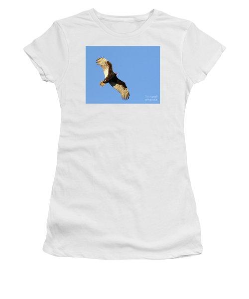 Turkey Vulture Women's T-Shirt (Junior Cut) by Debbie Stahre