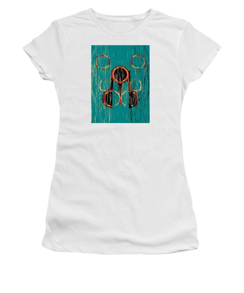 Turquoise Rings Women's T-Shirt (Athletic Fit)