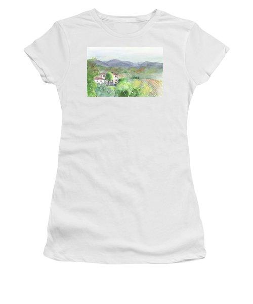 Tuscan Vineyards Women's T-Shirt