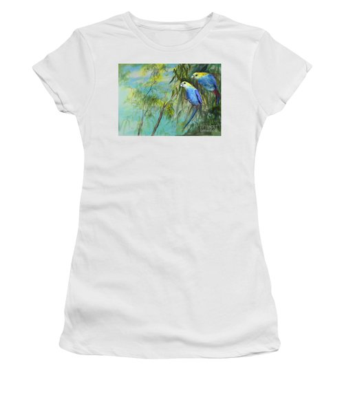 Two Pale-faced Rosellas Women's T-Shirt