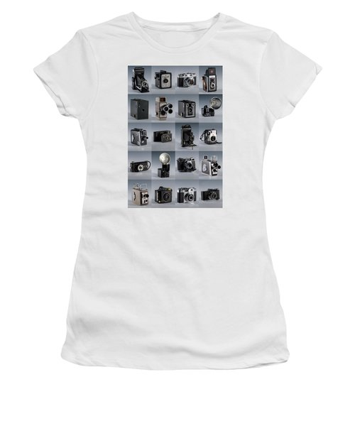Twenty Old Cameras - Color Women's T-Shirt