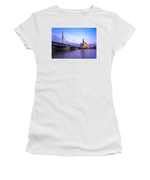 Twilight In Winnipeg Women's T-Shirt (Athletic Fit)