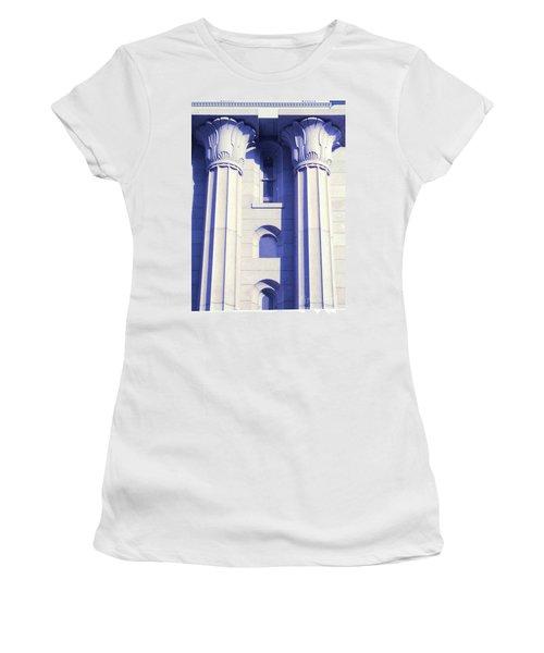 Two Columns Women's T-Shirt (Athletic Fit)