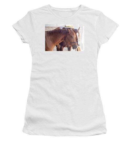 Two Horses Women's T-Shirt