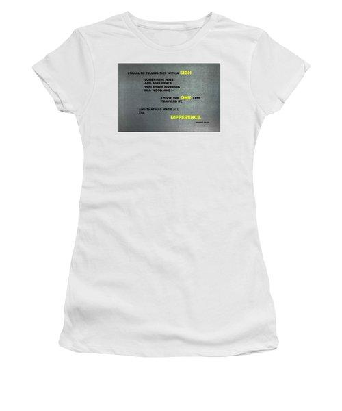 Two Roads #2 Women's T-Shirt