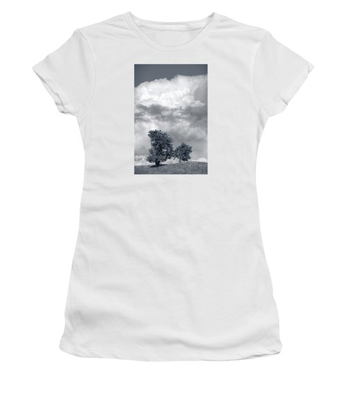 Two Trees #9249 Women's T-Shirt (Junior Cut) by Andrey Godyaykin