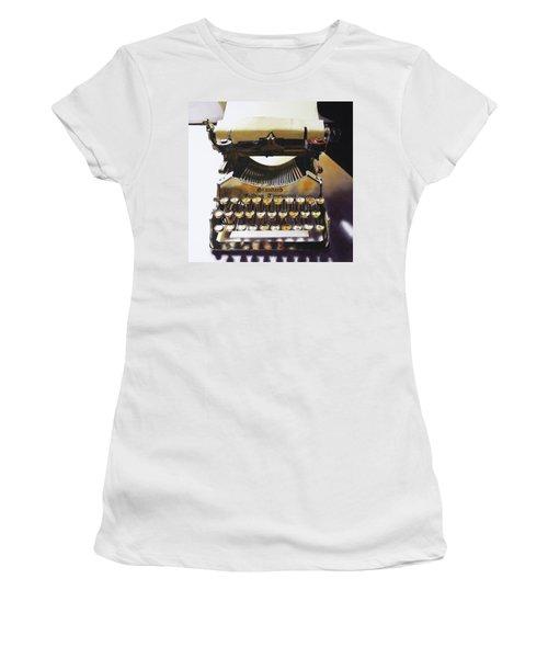 Typewritering Women's T-Shirt