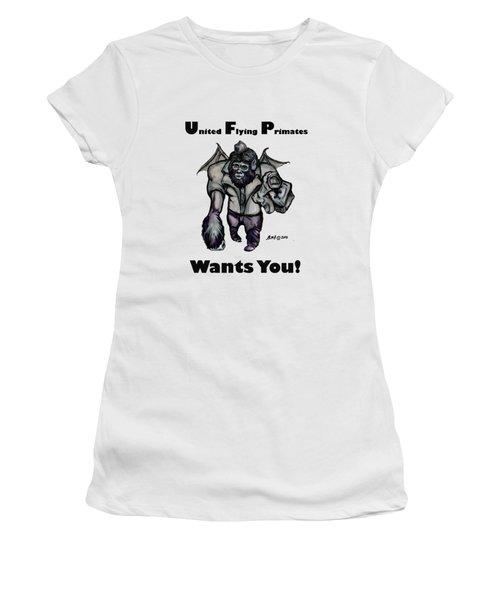 UFP Women's T-Shirt (Junior Cut) by Riley Frank