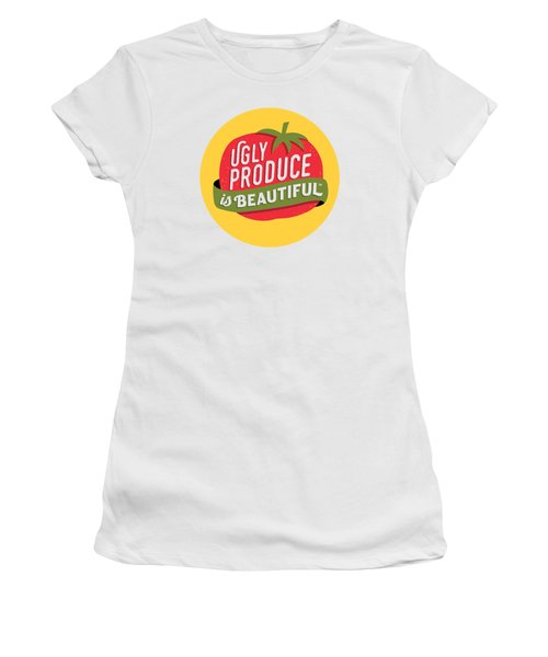 Ugly Produce Is Beautiful Women's T-Shirt