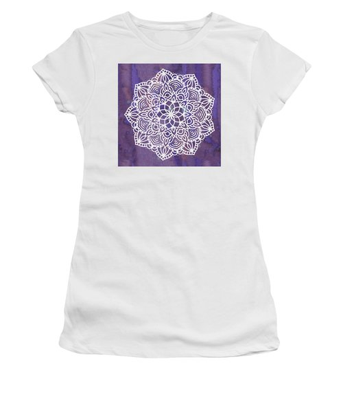 Ultraviolet Mandala Women's T-Shirt