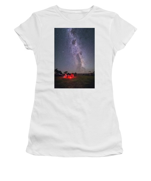 Under Southern Stars Women's T-Shirt (Athletic Fit)