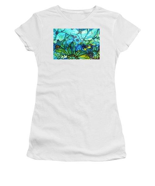 Underwater Fantasy Women's T-Shirt (Athletic Fit)