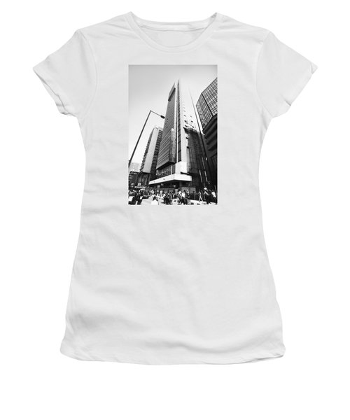 Union Bank Hq, Marina Women's T-Shirt (Athletic Fit)