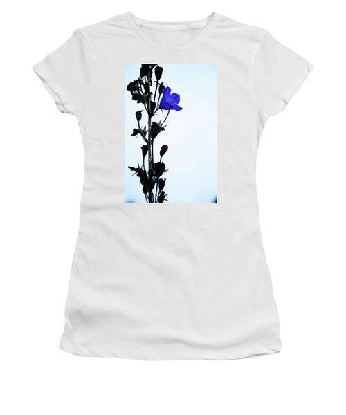 Unique Flower Women's T-Shirt (Junior Cut) by Teemu Tretjakov