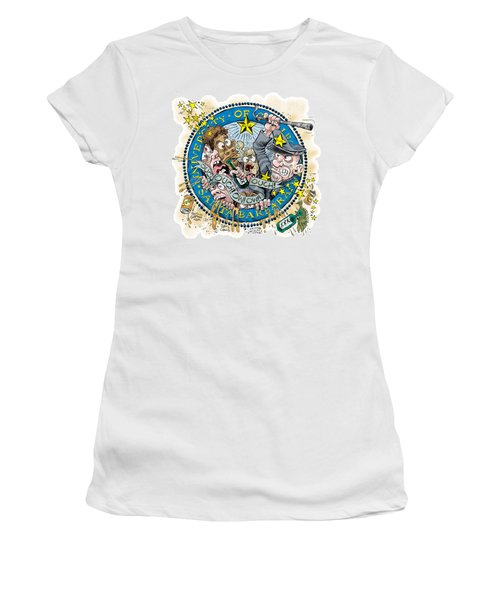 University Of California At Santa Barbara Seal Women's T-Shirt