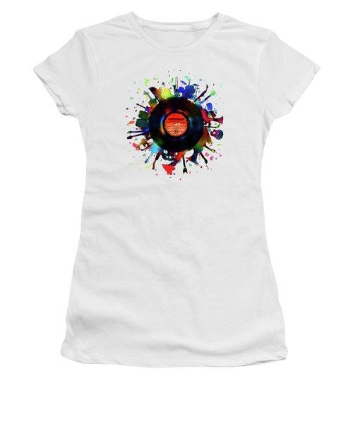 Unplugged Women's T-Shirt