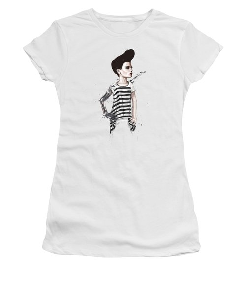 untitled II Women's T-Shirt (Junior Cut) by Balazs Solti