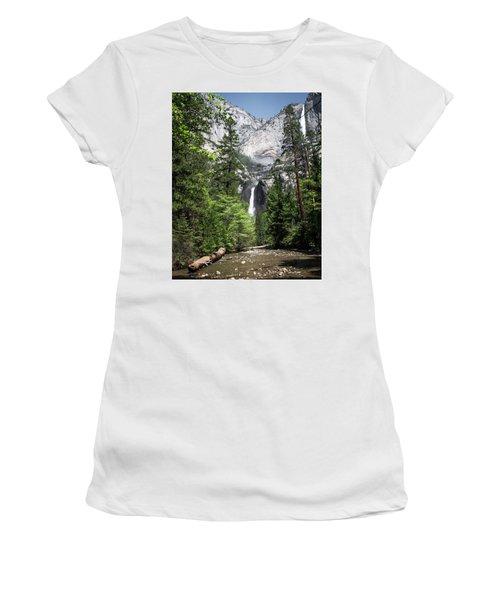 Upper Lower Women's T-Shirt (Junior Cut) by Ryan Weddle