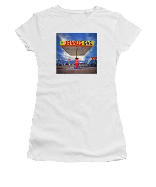 Uranus Gas Women's T-Shirt (Junior Cut) by Gary Warnimont