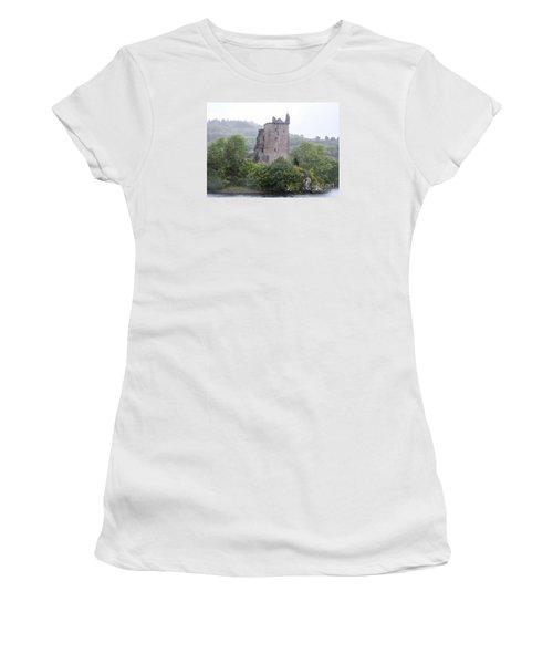 Urquhart Castle - Grant Tower Women's T-Shirt (Athletic Fit)