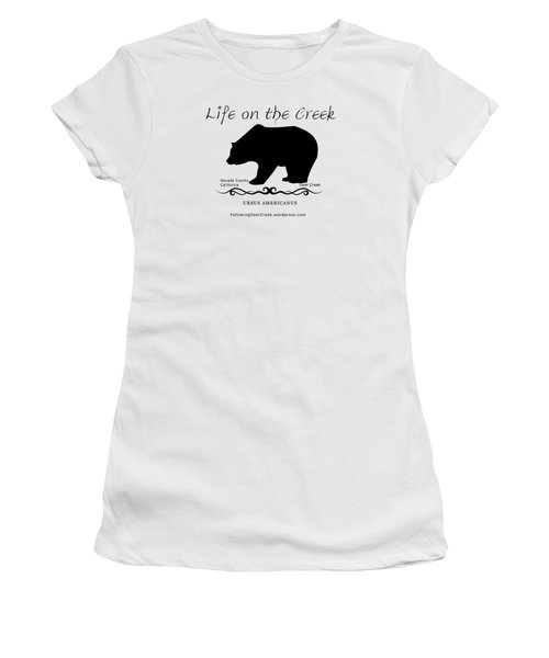 Ursus Americanus - Black Text Women's T-Shirt (Athletic Fit)