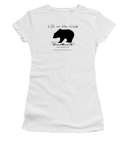 Ursus Americanus - Black Text Women's T-Shirt (Athletic Fit)