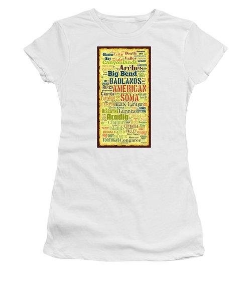 Usa National Parks Women's T-Shirt
