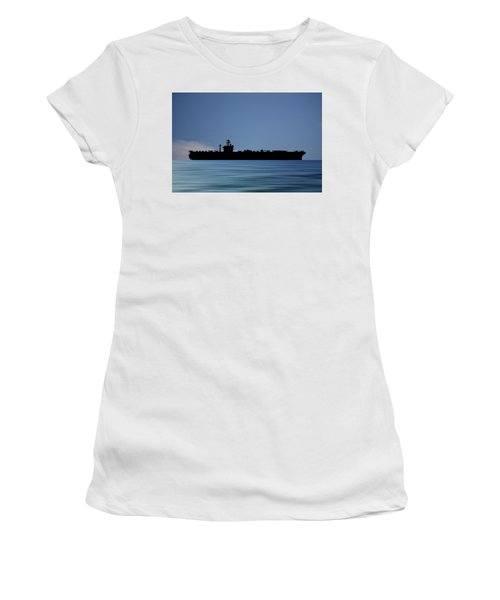 Uss Abraham Lincoln 1988 V4 Women's T-Shirt