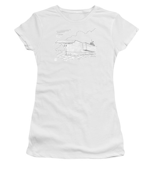 U.s.s. Deja Vu Women's T-Shirt (Junior Cut) by Mick Stevens