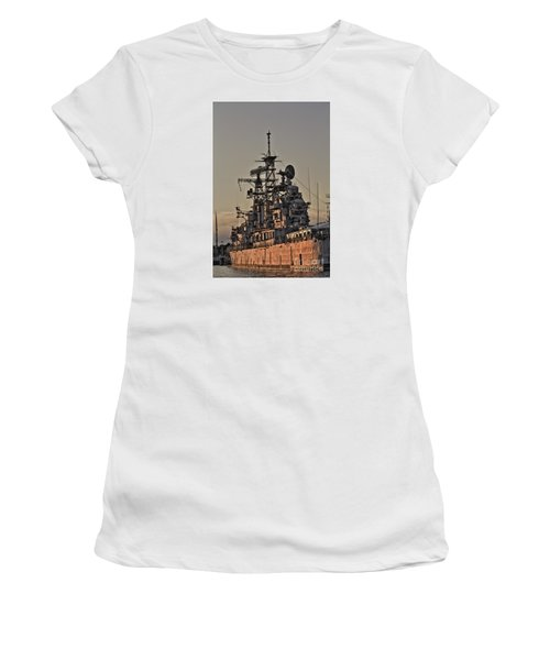 U.s.s Little Rock Women's T-Shirt (Junior Cut) by Jim Lepard