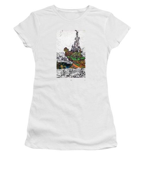 V Ogh 8 Women's T-Shirt (Athletic Fit)