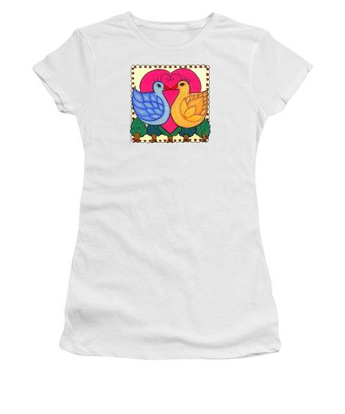 Valentine Birds Women's T-Shirt