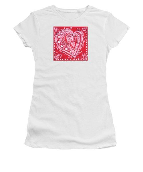 Valentine Heart Women's T-Shirt