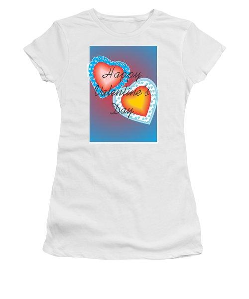 Valentine Lace Women's T-Shirt (Athletic Fit)