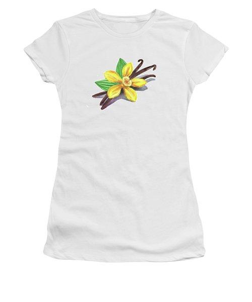 Vanilla Sticks And Flower Women's T-Shirt