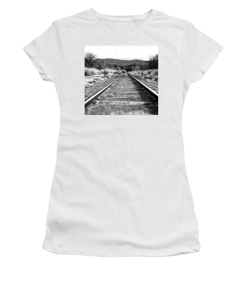 Vanishing Point Women's T-Shirt (Athletic Fit)