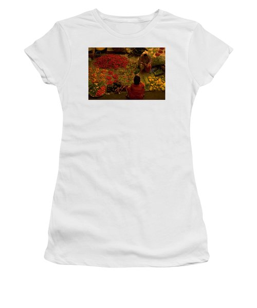Vegetable Market In Malaysia Women's T-Shirt