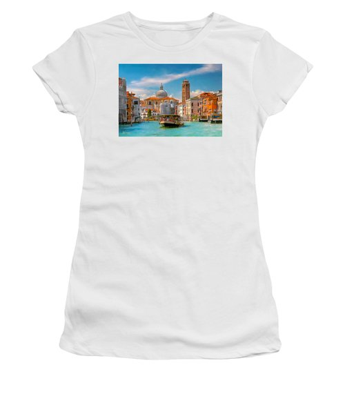 Venezia. Fermata San Marcuola Women's T-Shirt (Athletic Fit)