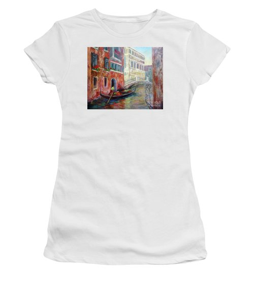 Venice Gondola Ride Women's T-Shirt